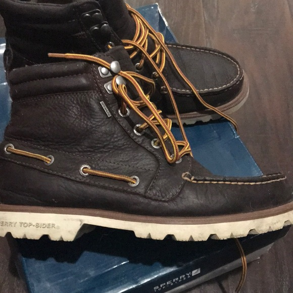 Mens Sherry Top Siders Boots | Poshmark